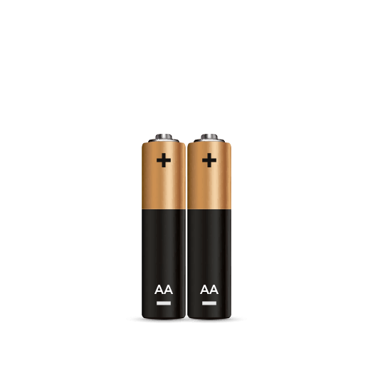 AA Batteries - 2 Pack